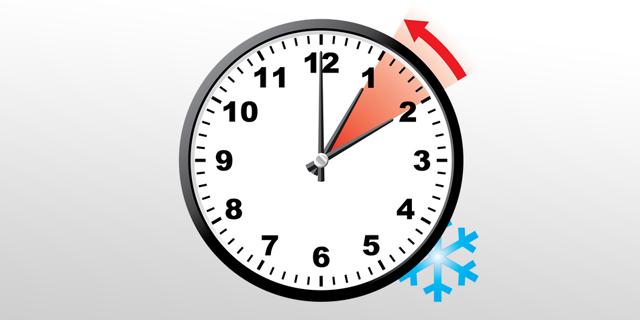 החורף מגיע: שעון הקיץ הסתיים הלילה