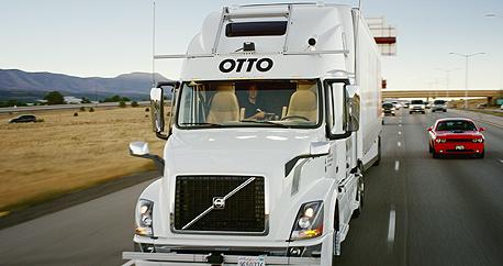 המשאית האוטונומית של Otto