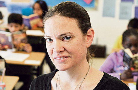 """המורה שרה ויסוצקי, שפוטרה ב""""הוראת"""" אלגוריתם. גילתה שאי אפשר להילחם בפסיקת המחשב, צילום: גטי אימג"""