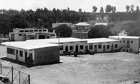 השוק העירוני הישן בפרדס חנה. דווקא תושבים ותיקים העדיפו להרוס אותו לטובת מגדל מגורים