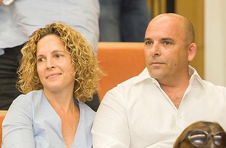 איתי שטרום ואשתו, היום בבית המשפט
