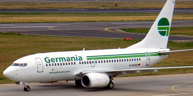 גרמניה איירליינס פשטה רגל: כל טיסותיה בוטלו, כולל אלה לישראל