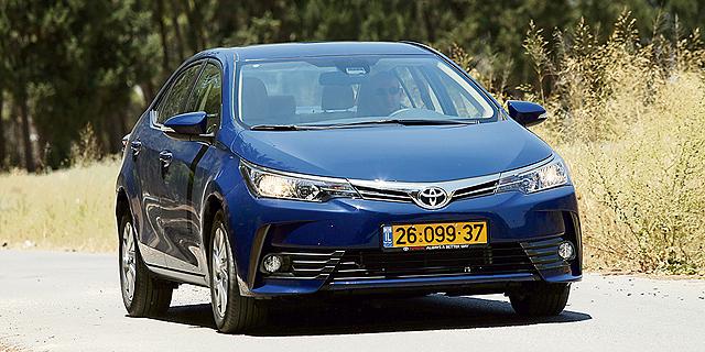 המכונית הנגנבת ביותר: טויוטה קורולה