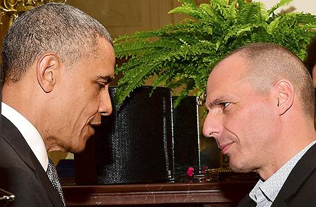 """ורופקיס עם נשיא ארה""""ב ברק אובמה"""