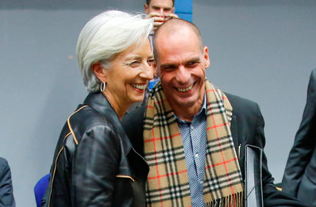 """ורופיקס עם יו""""ר קרן המטבע הבינלאומית כריסטין לגארד"""