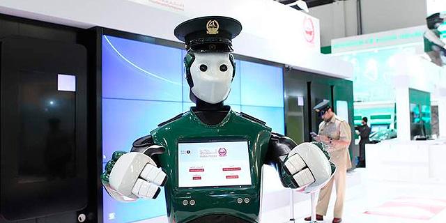 כמה מקצועות יחליפו הרובוטים, צילום: dubai police