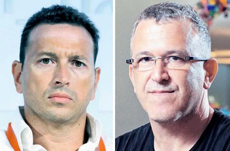 """מימין מנכ""""ל מטומי עופר דרוקר ואמיר אפרתי, צילומים: עמית שעל, אוראל כהן"""