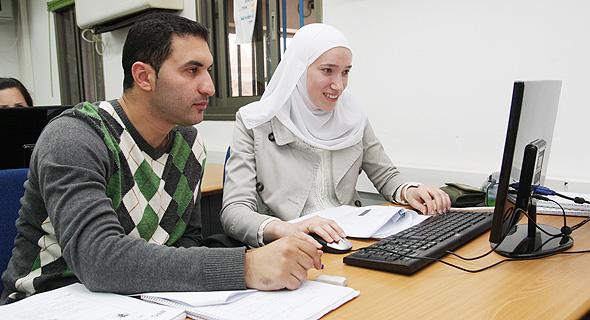 Tsofen classroom in Nazareth