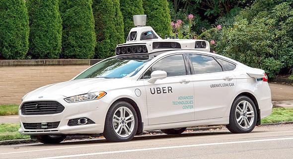 מגזין טכנולוגי 9.11.16 אובר מוניות מכונית ללא נהג מכונית אוטונומית, צילום: אי פי איי