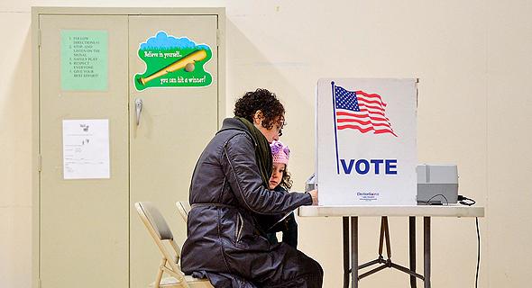 """מערכת הצבעה, בבחירות 2016 בארה""""ב"""