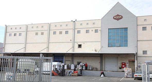 מפעל אחוה באזור התעשייה באריאל