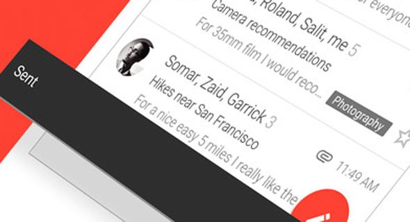אפליקציה ג'ימייל אפל gmail, צילום: itunes
