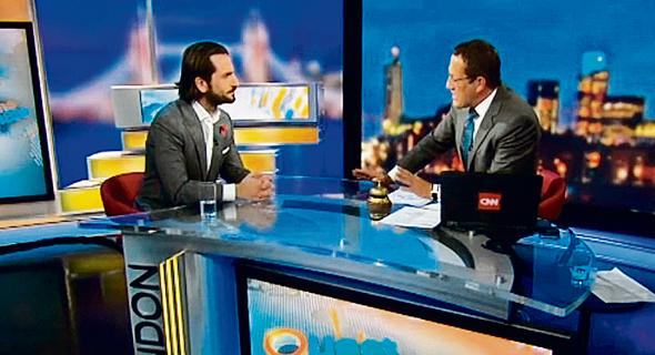 """המנכ""""ל המייסד דניאל אישג בראיון ל־CNN"""