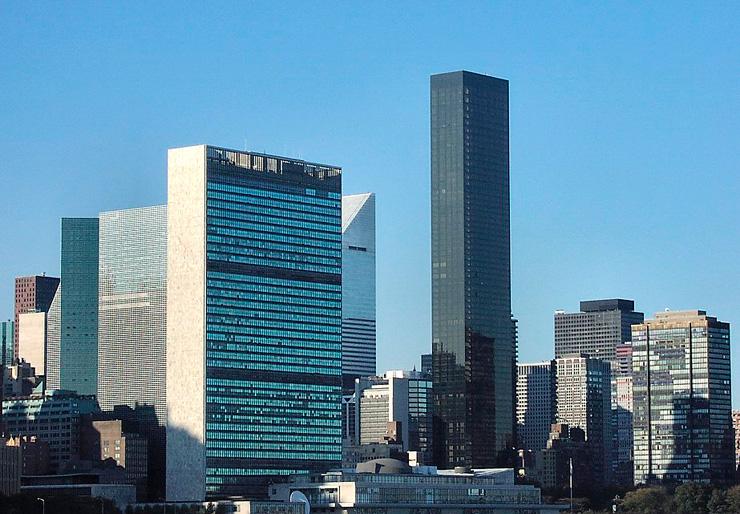 """טראמפ וורלד טאואר בניו יורק. ליד האו""""ם, צילום: SkyscraperCity"""