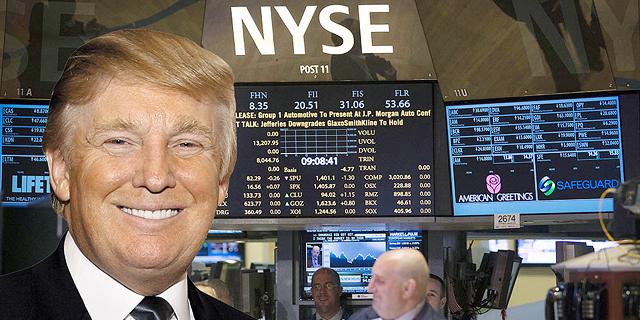 "טראמפ שוב טילטל את וול סטריט - נאסד""ק זינק ב-2%, הנפט קפץ ב-4%"
