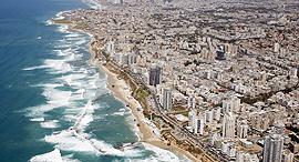 העיר בת ים תצלום אוויר, צילום: אילן ארד