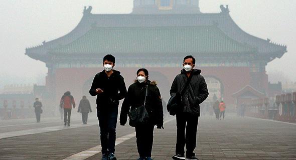 זיהום האוויר בבייג