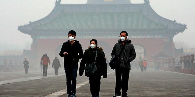 """דו""""ח חדש: גם זיהום האוויר בסין חזר לשגרה"""