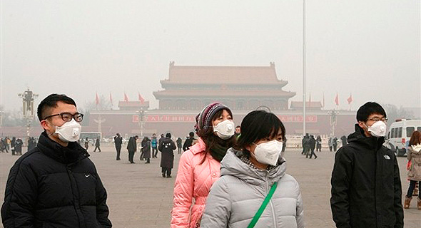 זיהום אוויר בבייג'ינג