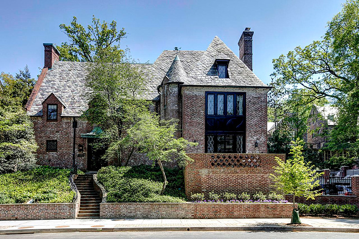 הבית בוושינגטון די.סי אליו תעבור משפחת אובמה בחודש ינואר, צילום: Washington Fine Properties