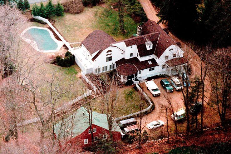 ביתם של ביל והילרי קלינטון במדינת ניו יורק, צילום: גטי אימג