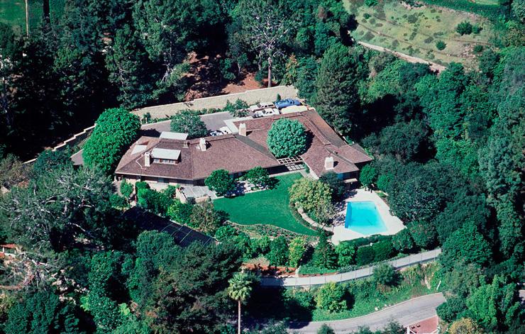 האחוזה של בני הזוג רייגן בלוס אנג