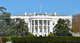 """הבית הלבן וושינגטון ארה""""ב ארמון נשיאותי, צילום: שאטרסטוק"""