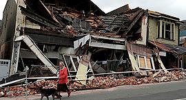 Earthquake. Photo: AFP