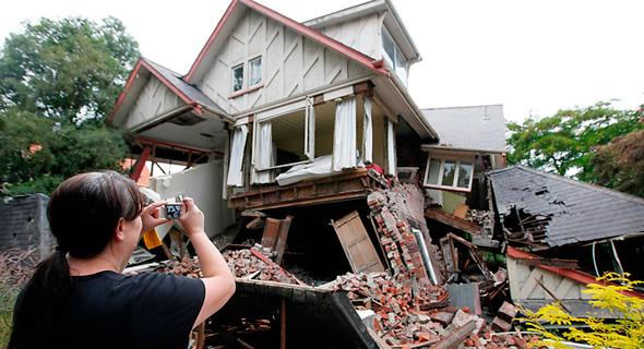 רעידת אדמה ניו זילנד 2, צילום: איי פי