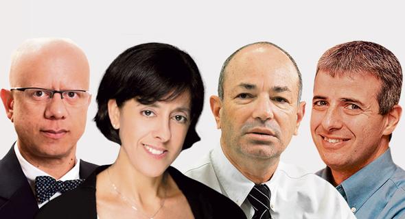 """מימין: יובל כהן, חיים שני, תמר יסעור ועו""""ד אשוק צ'נדרשיקר"""