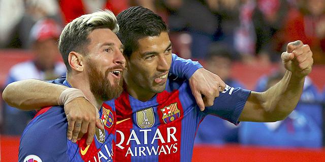 אדידס נגד הפסים של ברצלונה