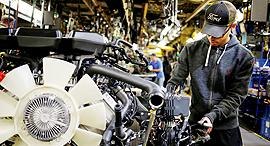 מפעל של פורד, צילום: בלומברג
