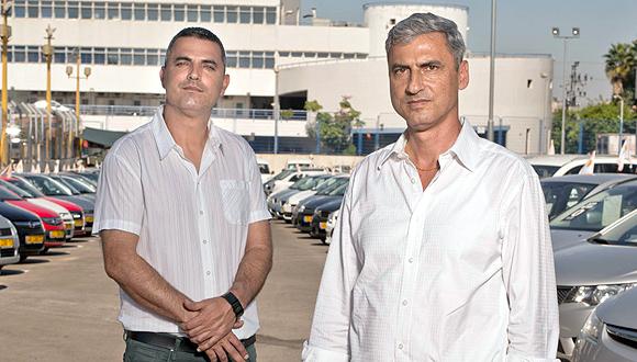 מימין: יעקב דיין ודודו דיין , צילום: יובל חן