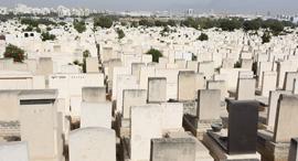 בית קברות, צילום: שאול גולן