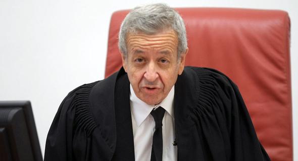 נציב תלונות הציבור על השופטים, השופט בדימוס אליעזר ריבלין, צילום: אלכס קולומויסקי