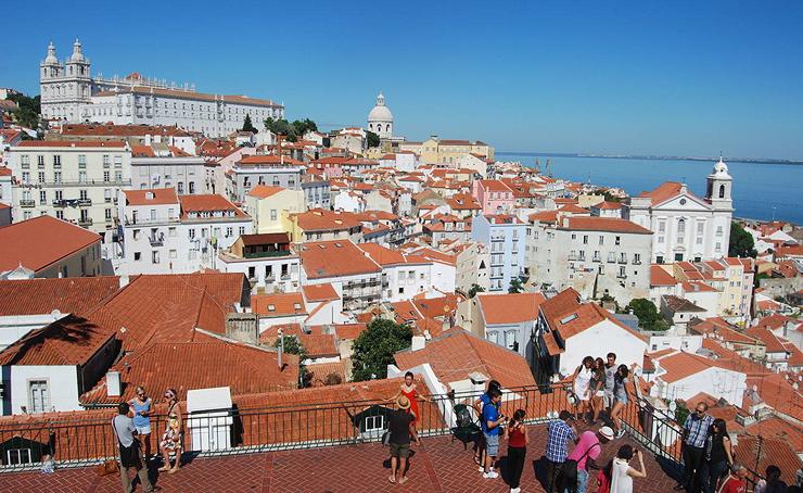 העיר העתיקה בליסבון