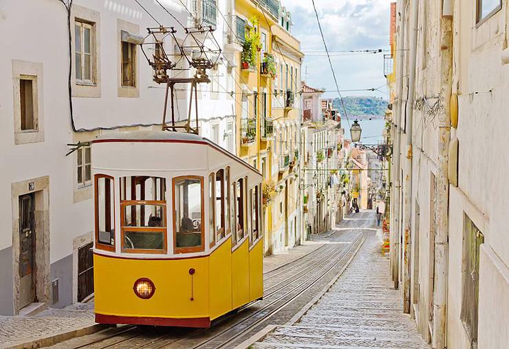 חשמלית הטראם בליסבון, פורטוגל
