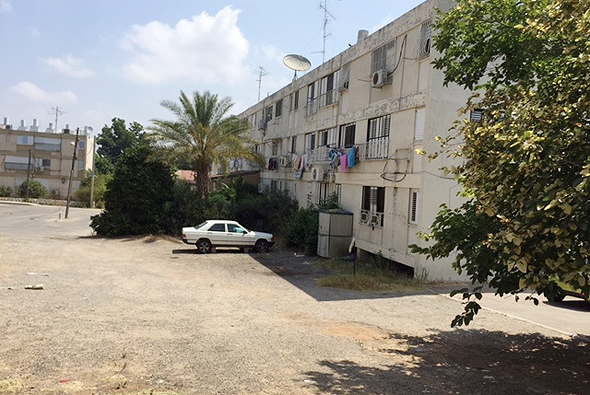 המתחם בנחלת יהודה כיום, צילום: חברת אור לירי התחדשות עירונית