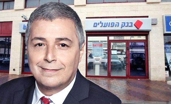 """אריק פינטו מנכ""""ל בנק הפועלים , צילום: אוראל כהן מיכאל קרמר"""