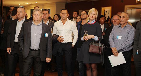 קבלת פנים בוועידת לונדון , צילום: אוראל כהן