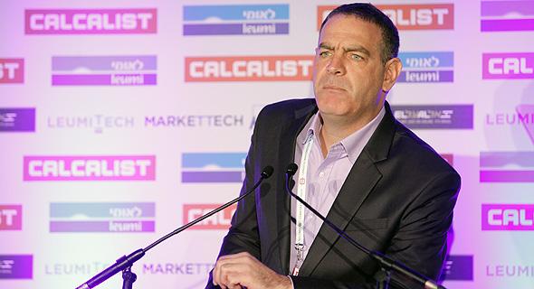 """ד""""ר נימרוד קוזלובסקי מנחה הוועידה, צילום: אוראל כהן"""