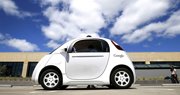 רכב אוטונומי מכונית ללא נהג גוגל, צילום: איי פי