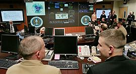 מרכז מעקב האיומים ב NSA, צילום: איי אף פי