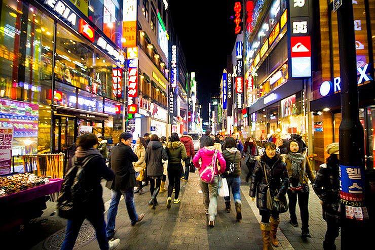מיונגדונג בסיאול , צילום: koreanairr