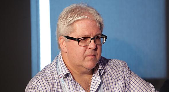 מייק הודג'סון, בכיר בענקית הטלקום הבריטית BT, צילום: אוראל כהן