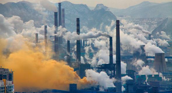 משבר האקלים, זיהום אוויר