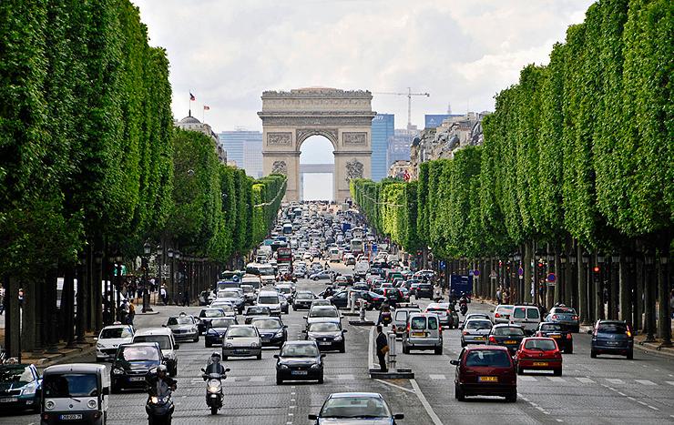 פריז, צרפת. חולקת את המקום השני עם דנמרק