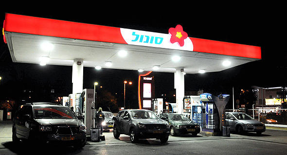 סונול תחנת דלק , צילום: דורון גולן
