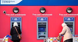 כספומט של בנק טסקו, צילום: איי אף פי