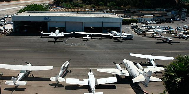 שדה תעופה הרצליה (ארכיון), צילום: עמית שעל